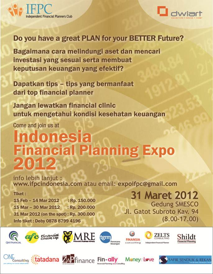 THE 2nd INDONESIA FINANCIAL PLANNING EXPO – 31 MARET 2012