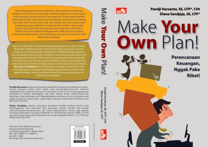 BUKU MAKE YOUR OWN PLAN! Perencanaan Keuangan Nggak Pake Ribet